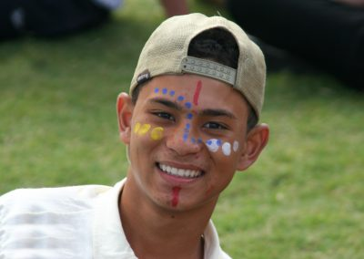 Boy with Face Paint-2